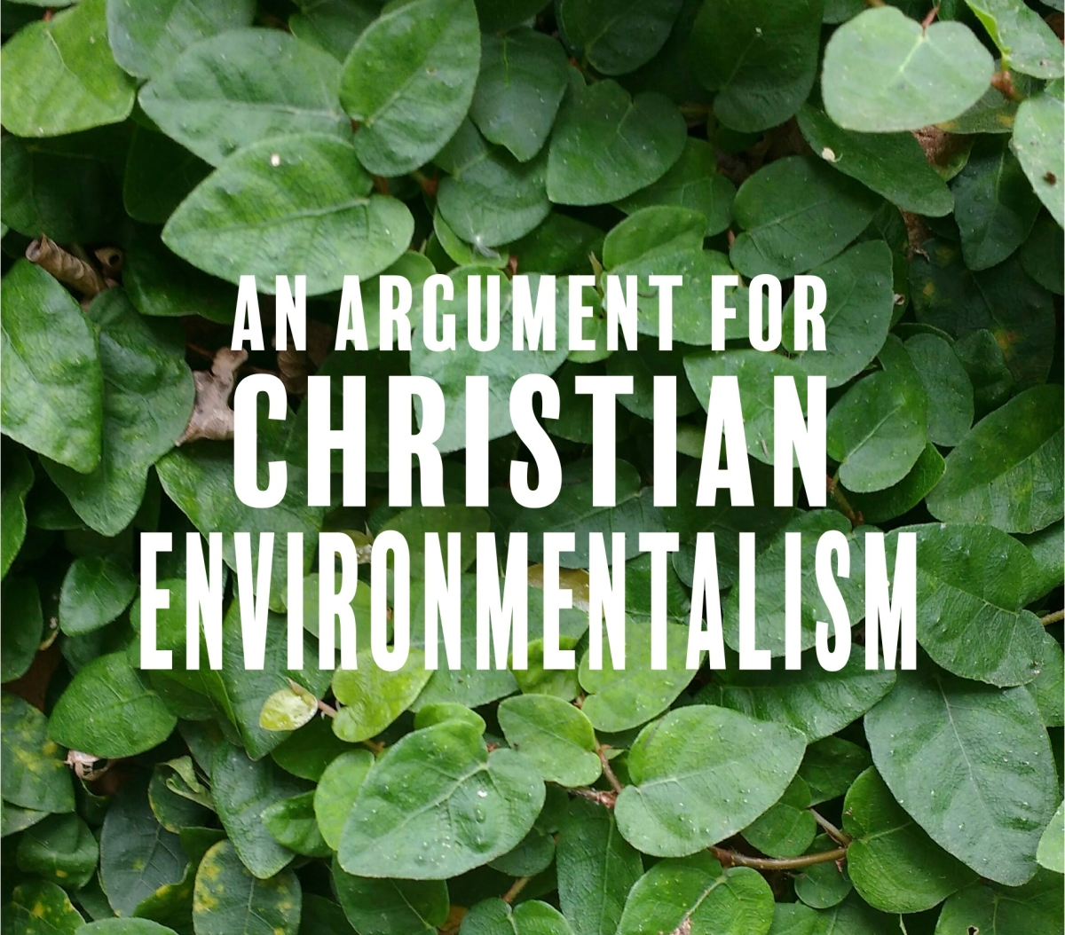 An Argument for Christian Environmentalism
